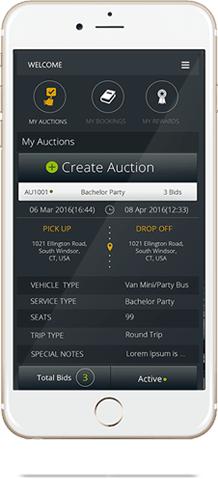 Auction Management for Luxury Vehicles.
