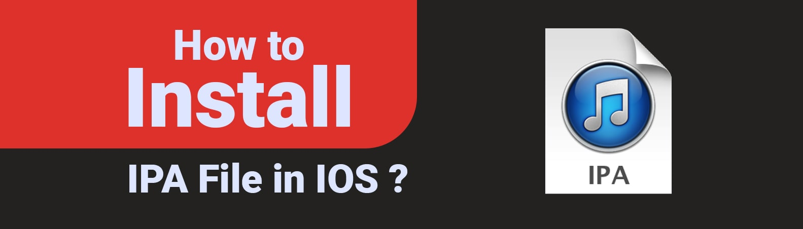 How to Install IPA File in IOS ? - IOS App IPA