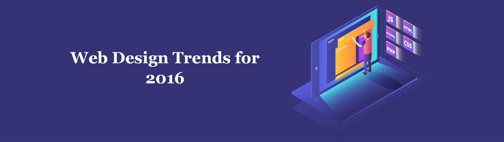 Top 5 Web Design Trends For 2016 Website Trends 2base Technologies