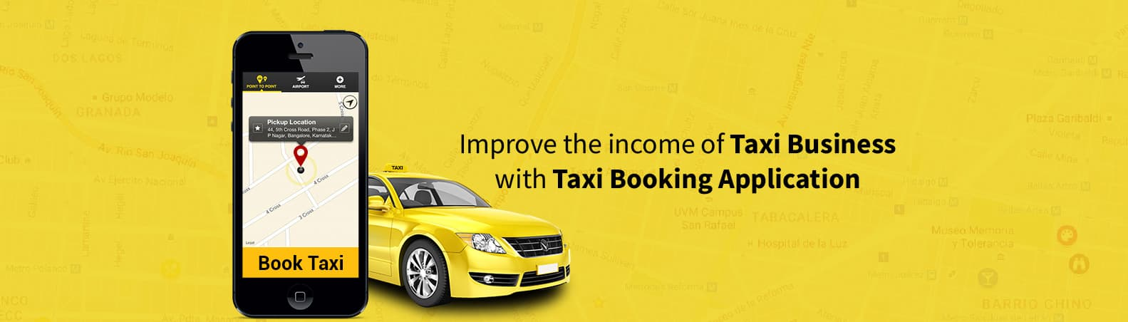 How to improve the income of Taxi Business with Taxi Booking Application?