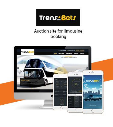 Transbets Auction site for booking limos