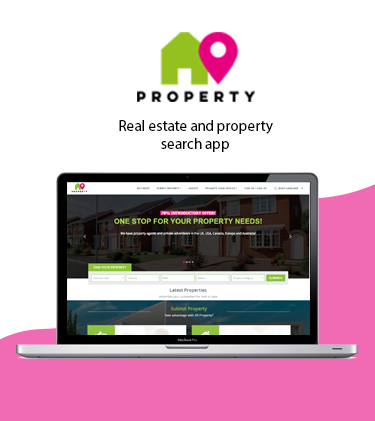 A9 properties Tri Lingual web Application
