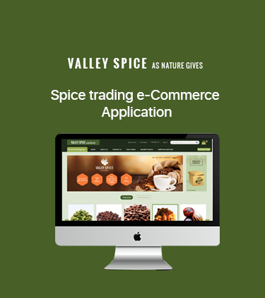 Valley Spice E-commerce Web Application